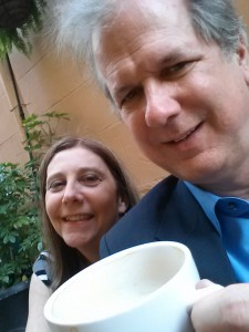 coffeecon selfie