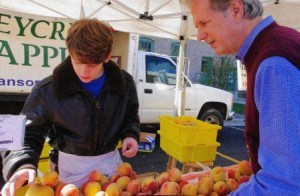 I enjoy farmer's markets, as much to meet the people who grow my food as for the food itself.
