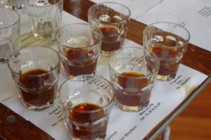 Tasting seminar samples
