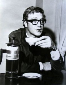 Cafe Cinema French Press Michael Caine Ipcress File