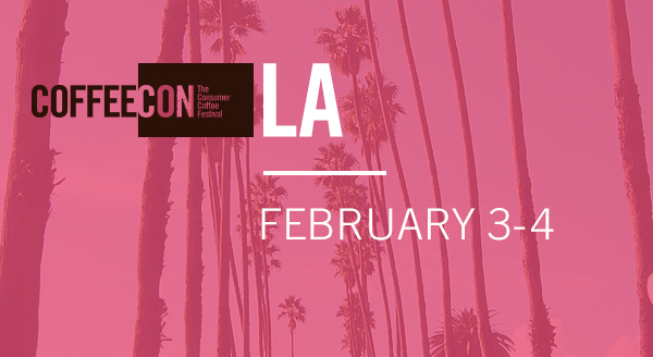 CoffeeCon Los Angeles 2018