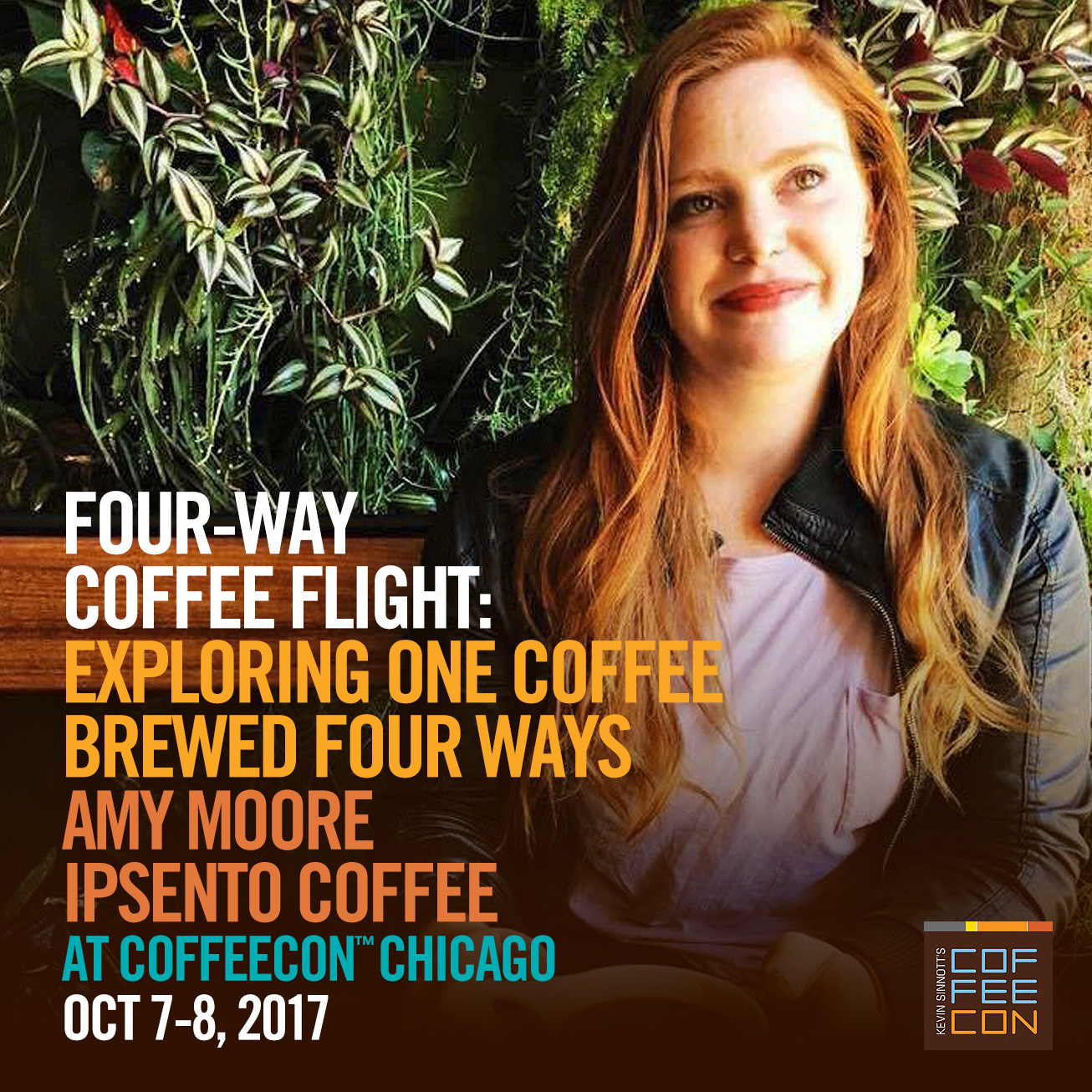 Four-Way Coffee Flight - Exploring one coffee brewed with four different methods with Amy Moore