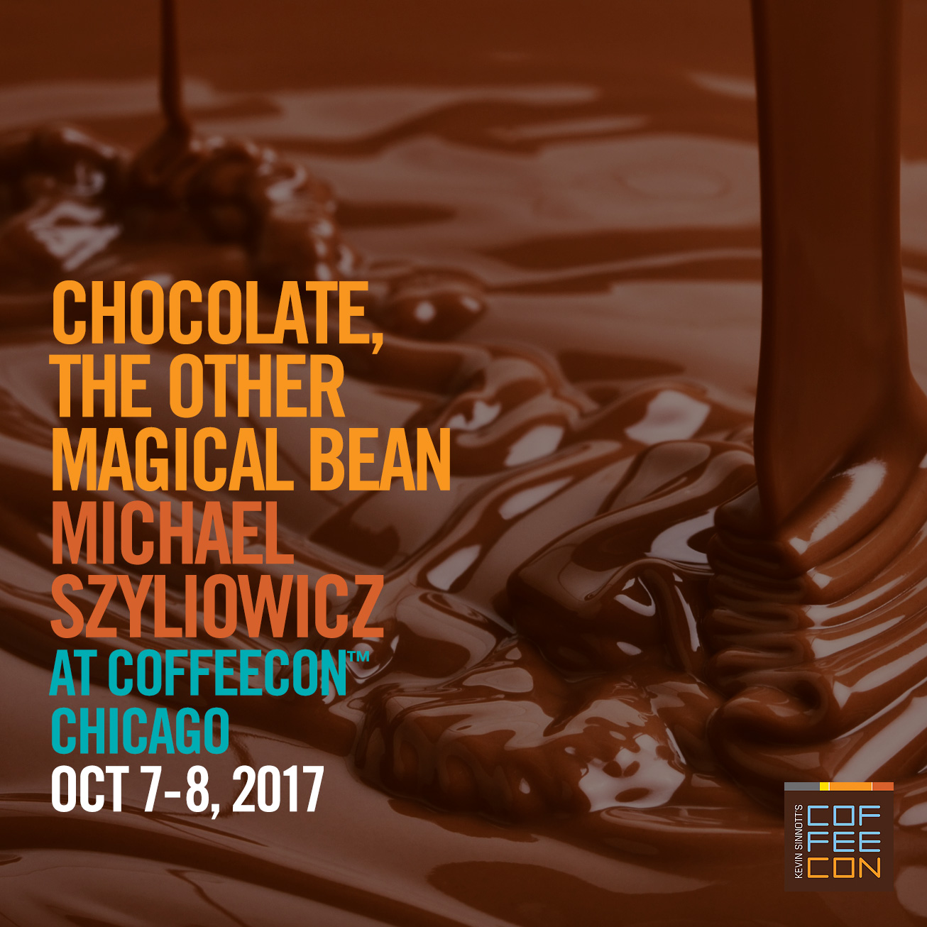 Chocolate, The Other Magical Bean at CoffeeConChi 2017