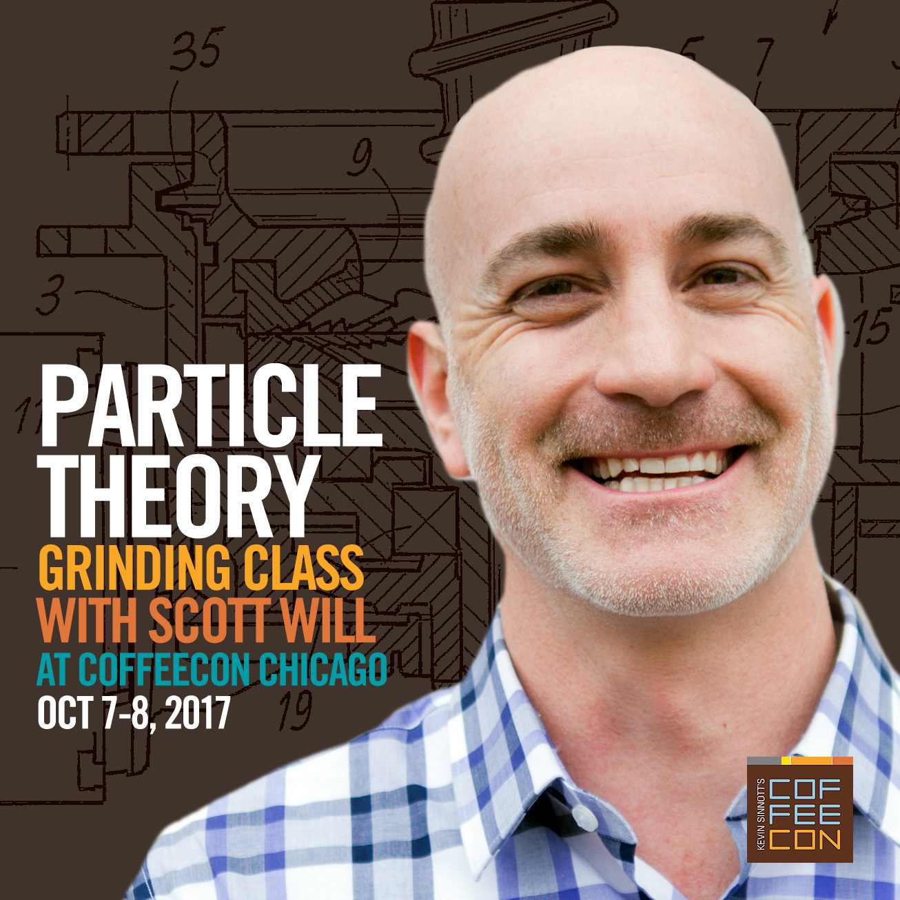 Particle Theory Grinding Class with Scott Will at CoffeeConChi 2017