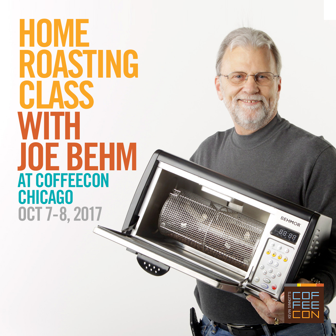 Home Roasting with Joe Behm at CoffeeConChicago 2017