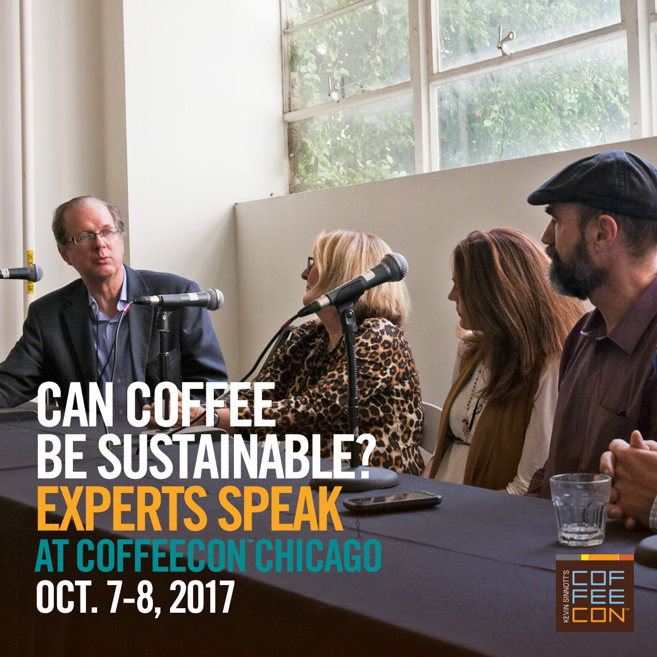 Coffee Sustainability at CoffeeConChicago 2017