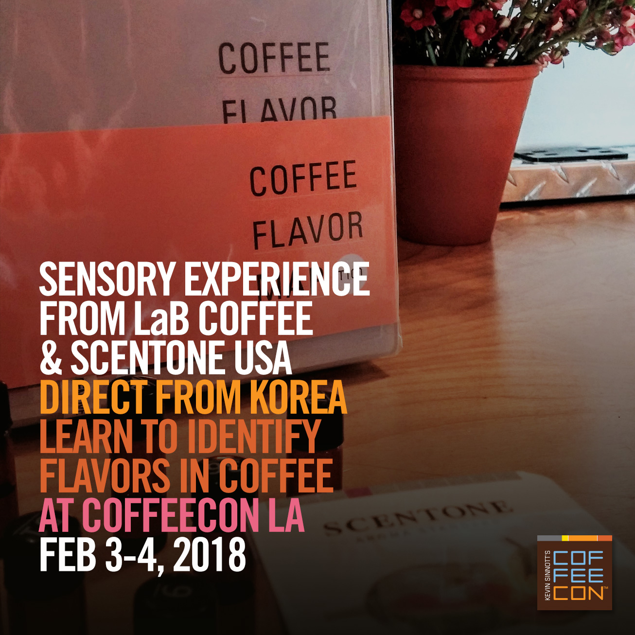 Sensory Experience with LaB Coffee and Scentone USA