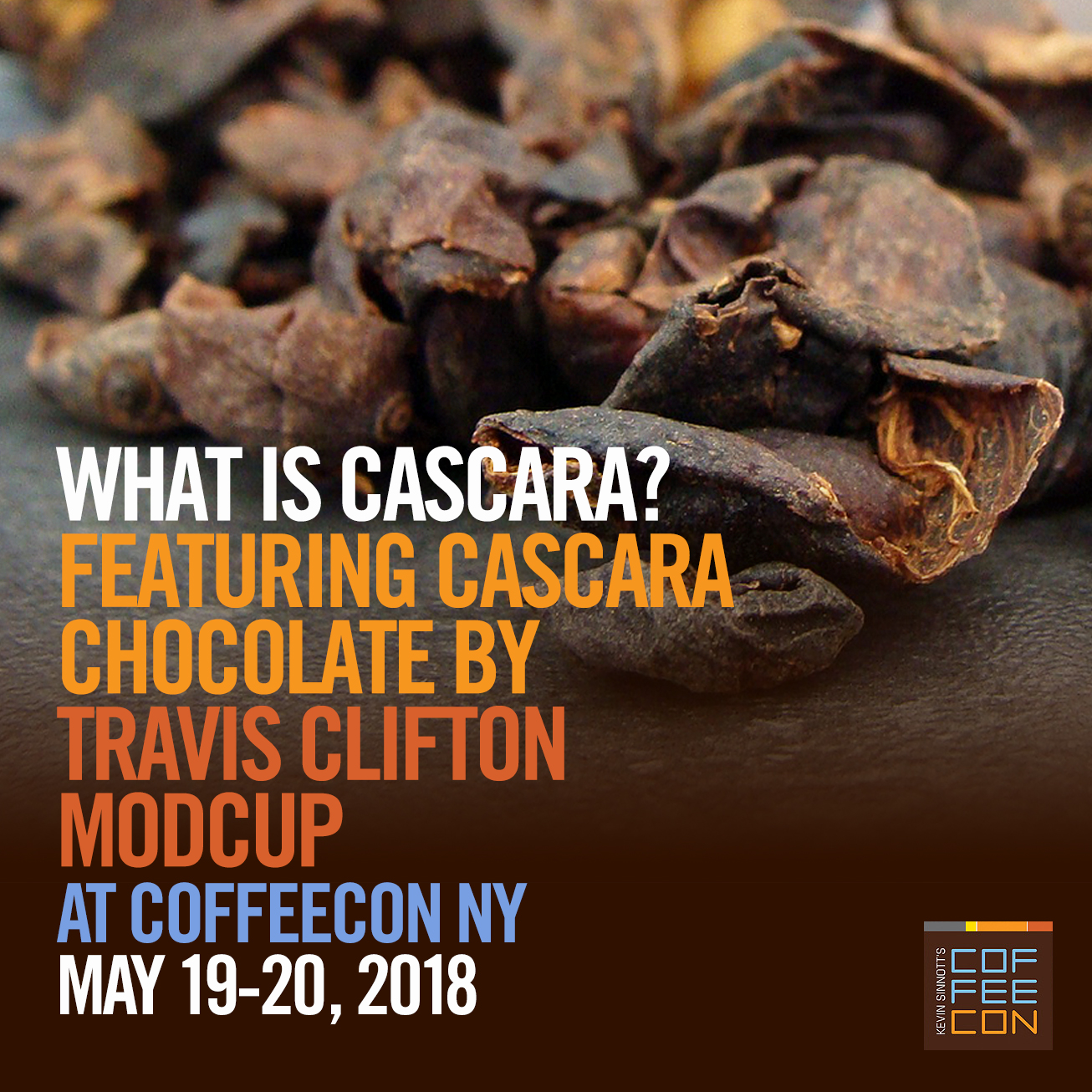 What is Cascara? at CoffeeConNY