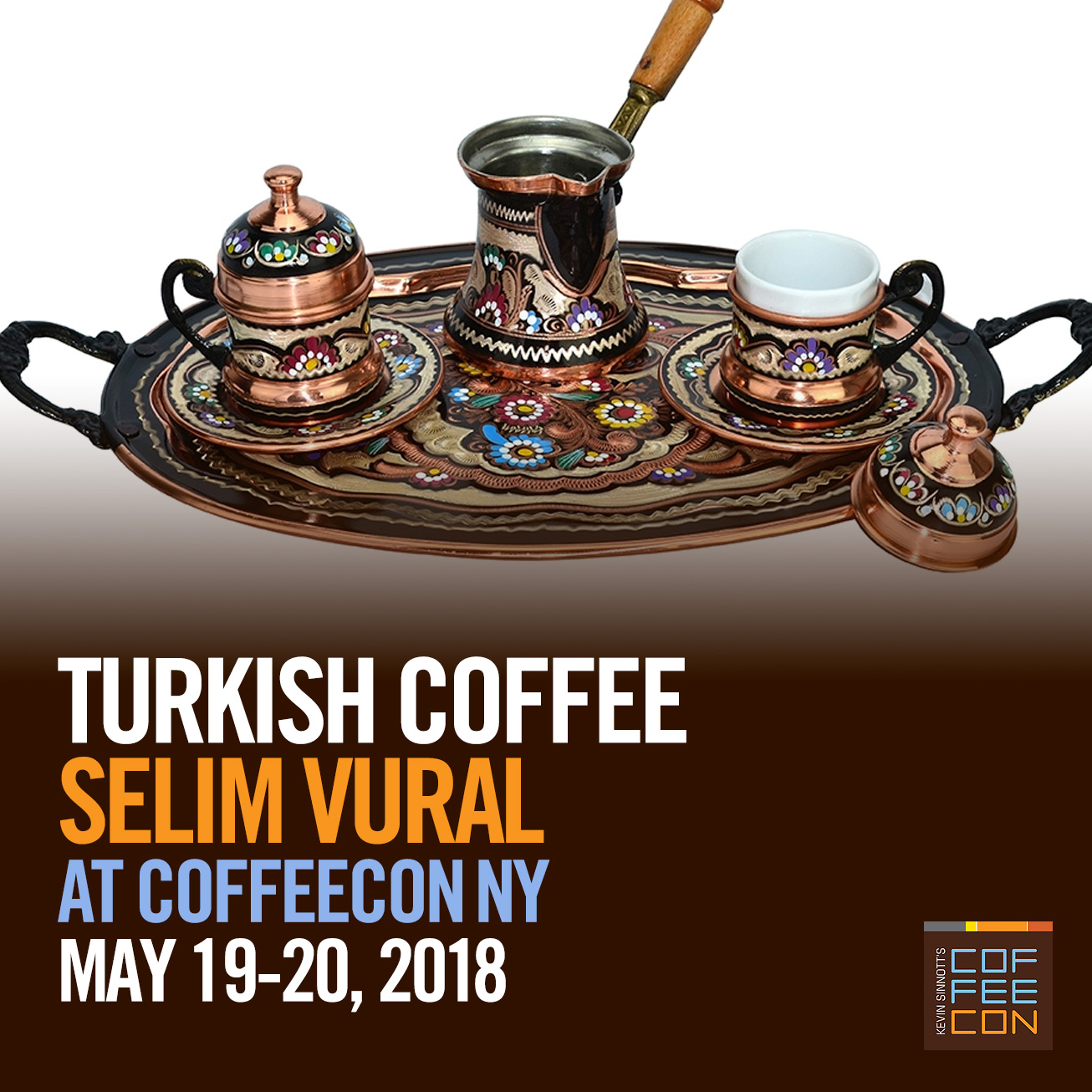 Turkish Coffee at CoffeeConNY 2018