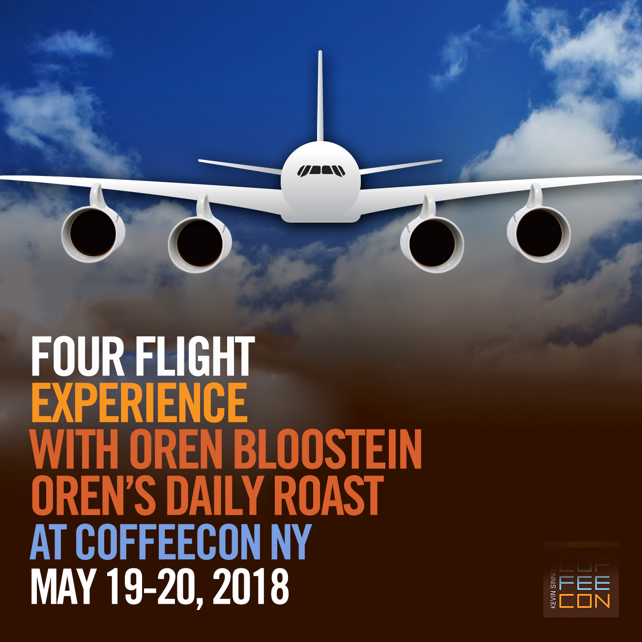 Four Flight Experience with Oren Bloostein at CoffeeConNY