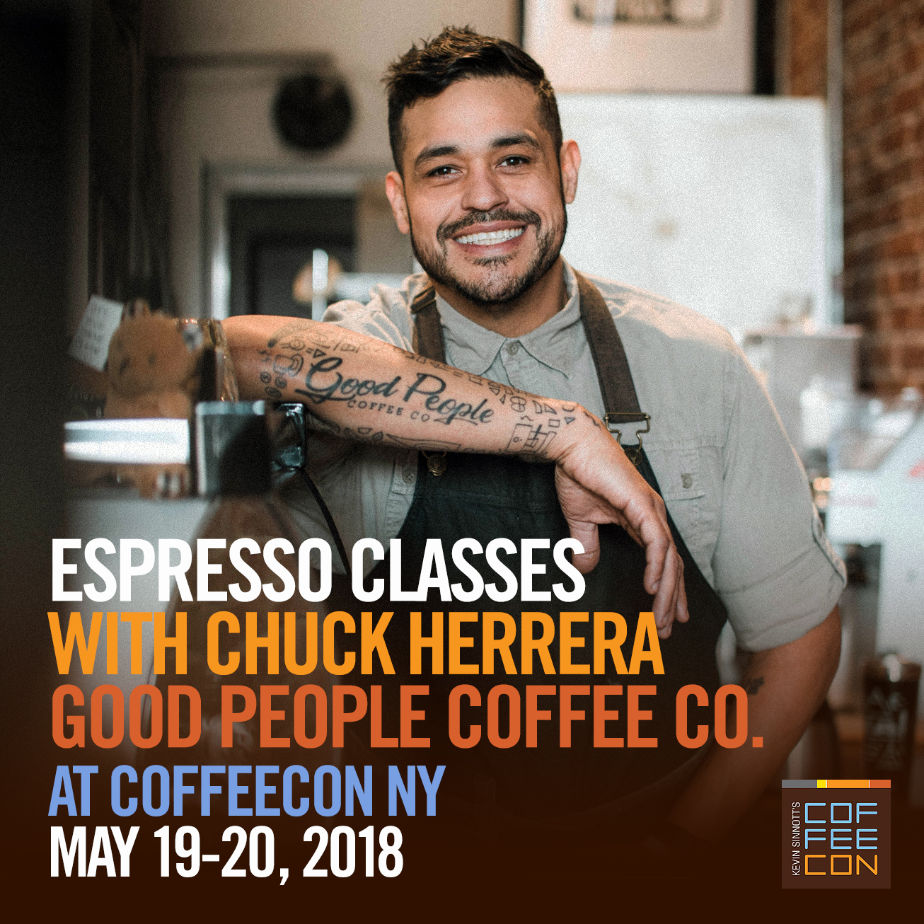 Espresso Classes with Chuck Herrera