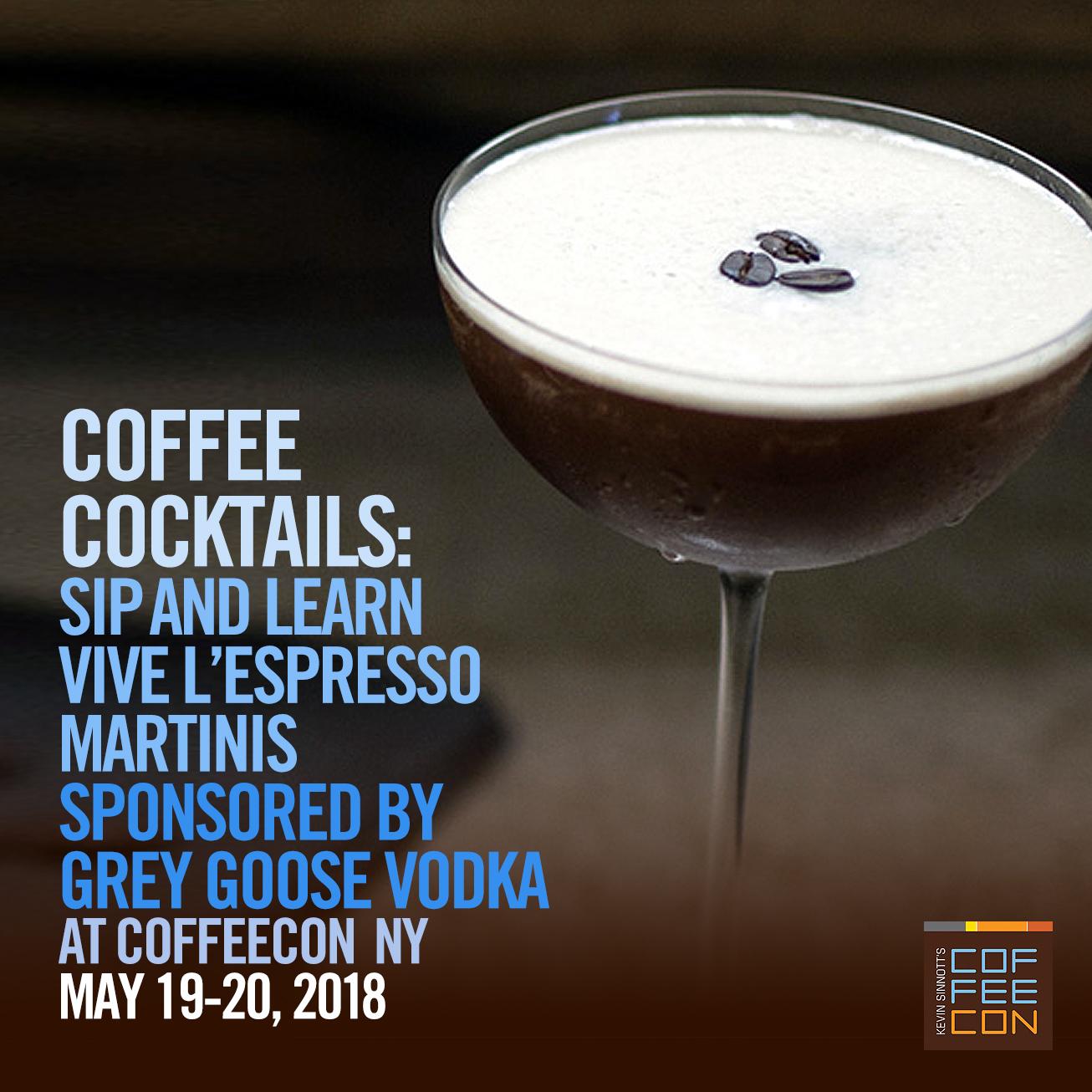 Vive L' Espresso Grey Goose Vodka at CoffeeConNY
