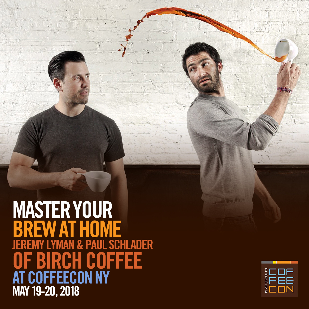 Master Your Brew At Home with Birch Coffee at CoffeeConNY
