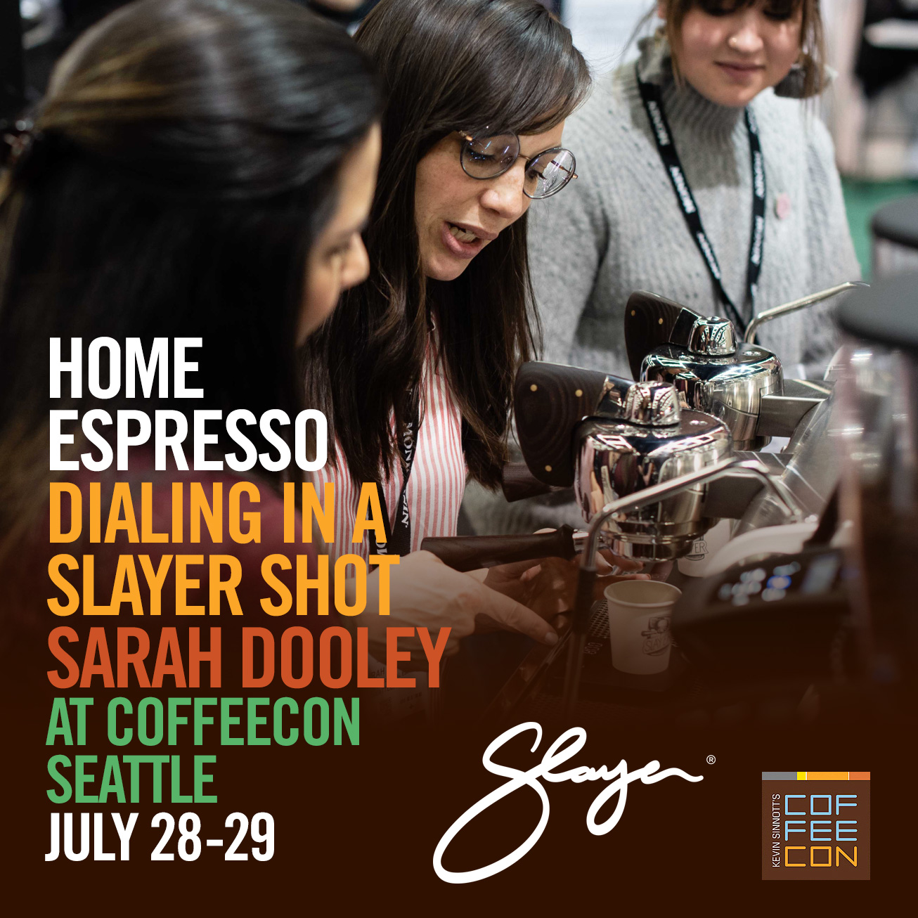 Home Espresso Dialing in A Slayer Shot Sarah Dooley