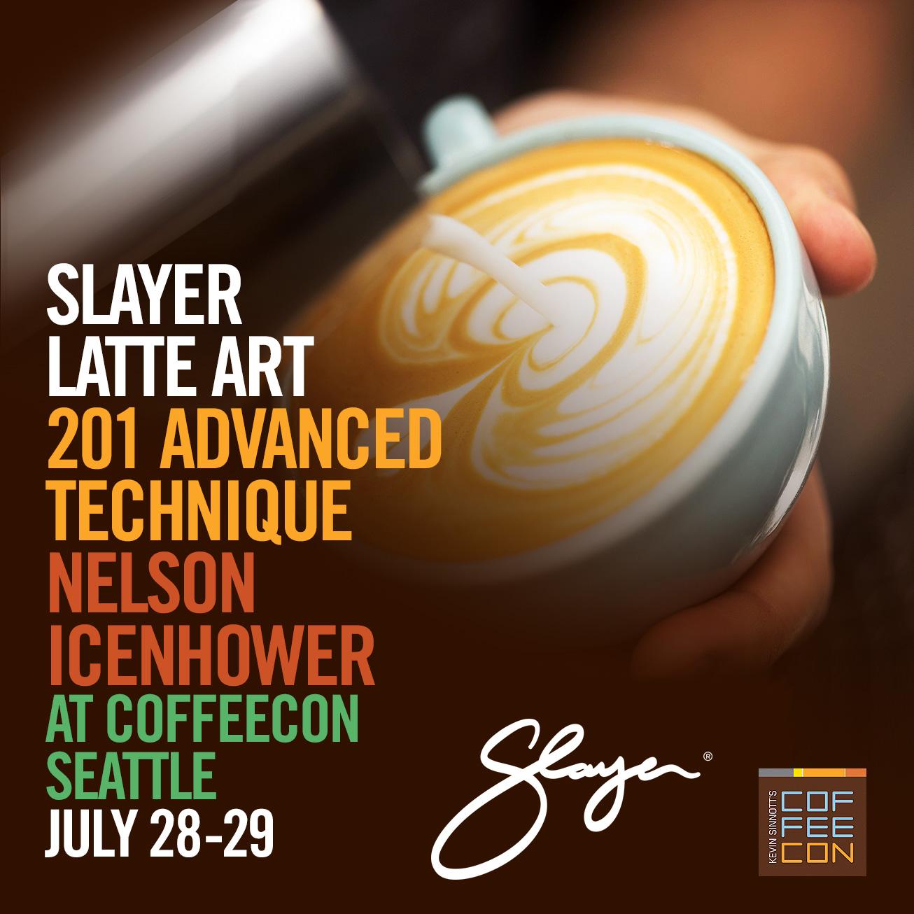 Slayer Latte Art 201 Advanced Technique