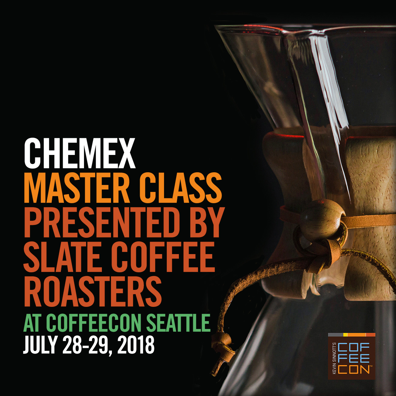 Chemex Master Class with Slate Coffee Roasters
