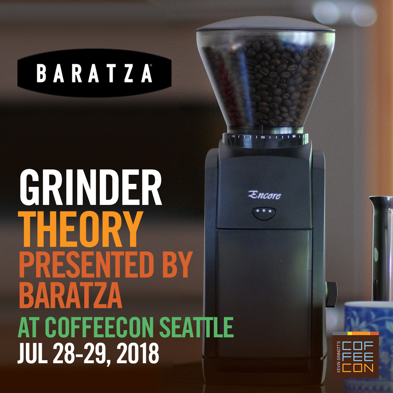 Coffeecon Seattle 2018 Coffee Classes Making Class Intro Grinder Theory With Baratza