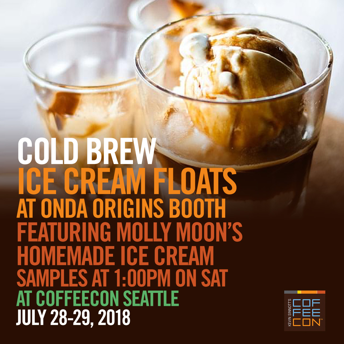 Cold Brew Ice Cream Floats