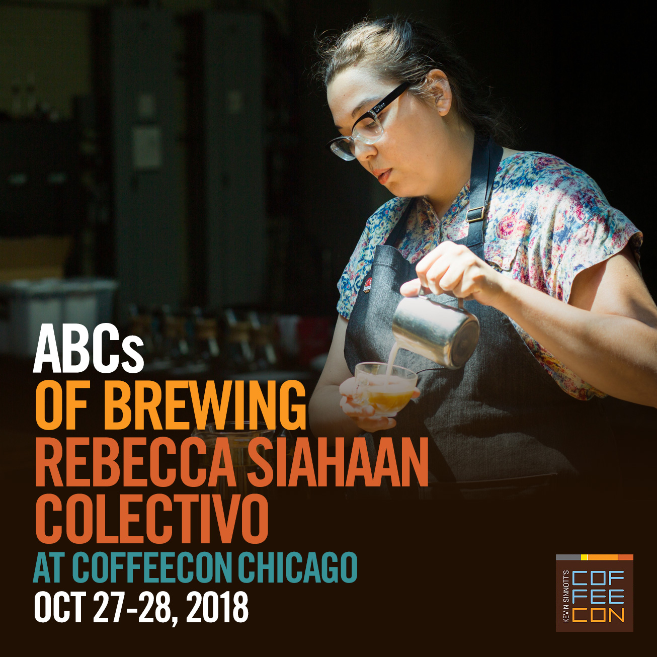 ABC's of Brewing with Colectivo Coffee at CoffeeConChicago 2018