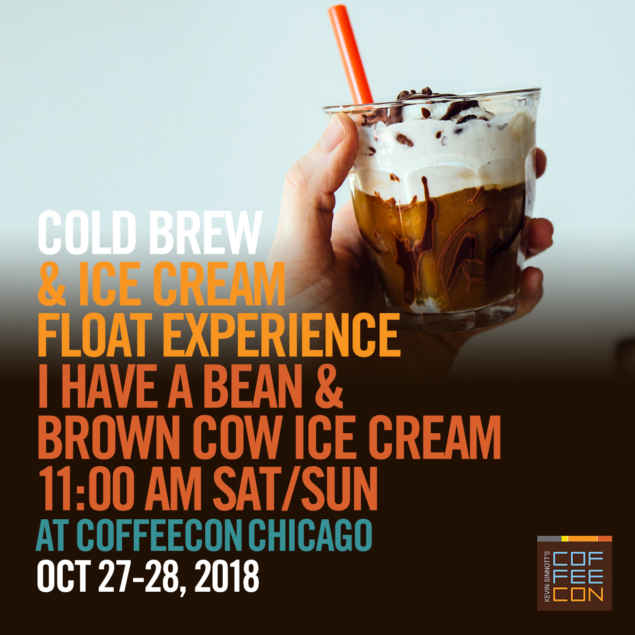 Cold Brew and Ice Cream Float at CoffeeConChicago 2018