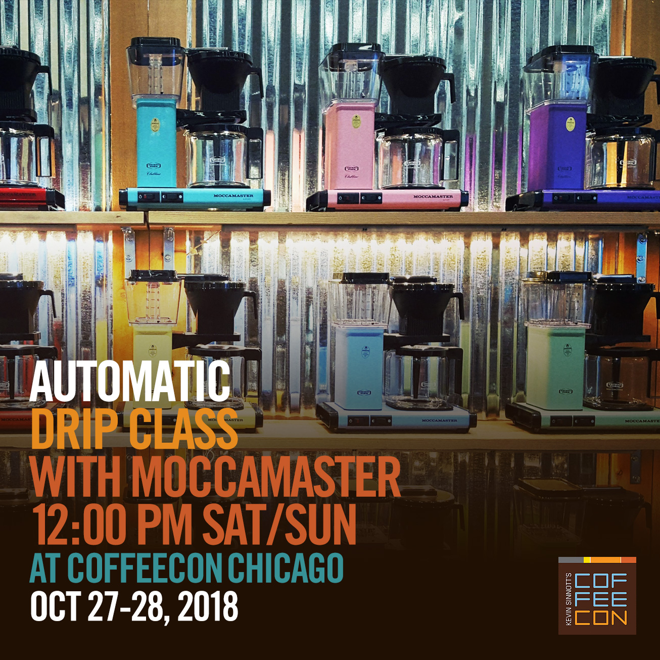 Moccamaster Automatic Drip Class at CoffeeConChi 2018
