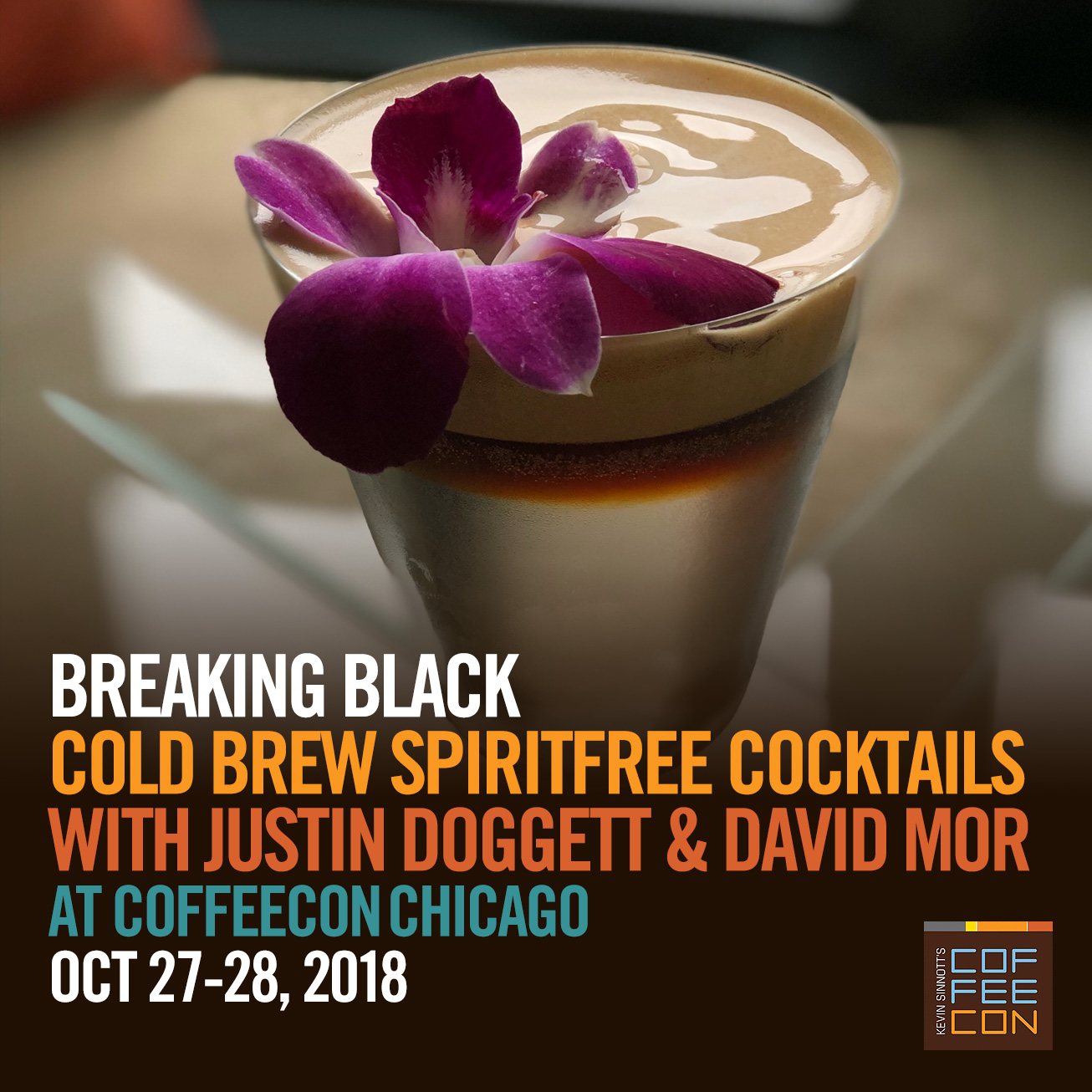 Breaking Black Spiritfree Cocktails at CoffeeConChi 2018